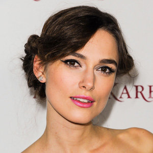 Keira Knightley works a chic twisted short hairstyle