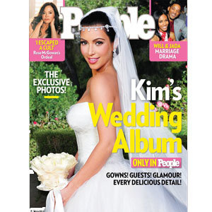 JUST IN: Kim Kardashian's wedding picture!