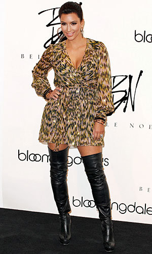 Kim Kardashian launches Belle Noel jewellery collection in NYC