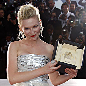 Kirsten Dunst and Brad Pitt are big winners in Cannes