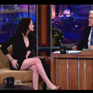 Kristen Stewart talks Joan Jett on Jay Leno