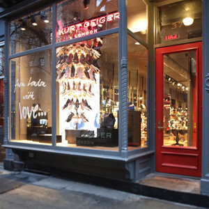Kurt Geiger arrives in New York