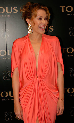 Kylie Minogue parties in style to celebrate Tous jewellery
