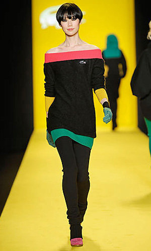 Lacoste goes bright for AW10 capsule collection Studio Lacoste!