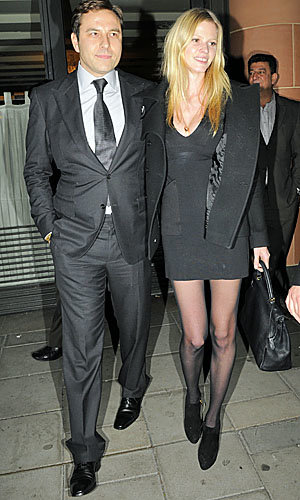 David Walliams and Lara Stone's date night!