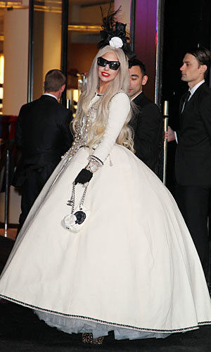 Lady Gaga wows in Chanel to open Gaga's Workshop at Barneys
