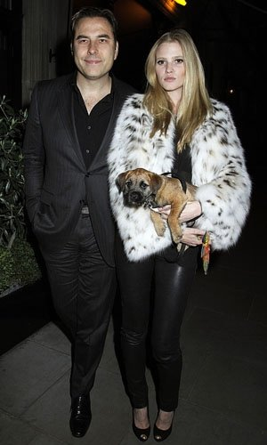 Lara Stone pregnant with first baby with David Walliams!
