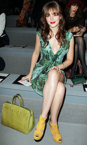 Natalie Portman and Leighton Meester hit New York Fashion Week