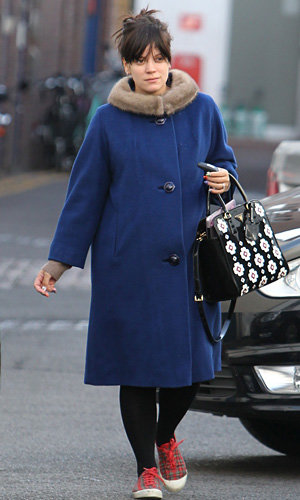 Lily Allen and Fearne Cotton work pregnancy style
