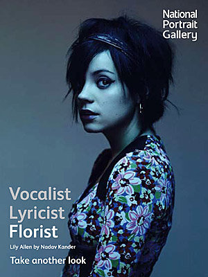 Lily Allen is new face of National Portrait Gallery