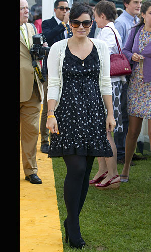 InStyle parties with Lily Allen, Chloe Moretz and Sunday Girl at the Veuve Clicquot polo