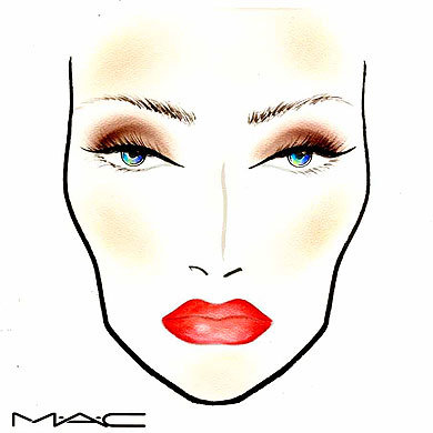 EXCLUSIVE: MAC creates the perfect holiday daytime look...