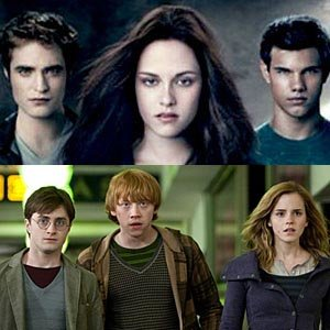 The Twilight Saga and Harry Potter go head-to-head at the 2011 MTV Movie Awards