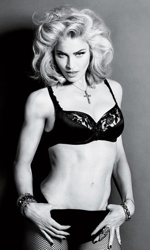 Madonna's racy new model shots