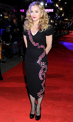 WOW! Madonna sizzles at the London premiere of WE