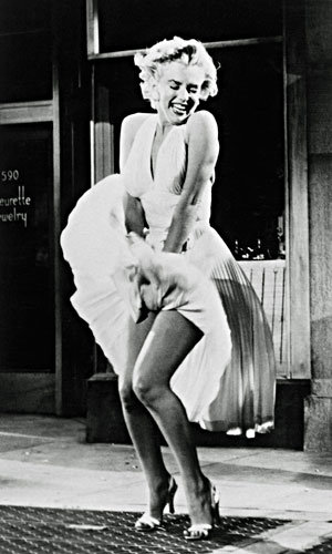 Marilyn Monroe's iconic white dress up for auction