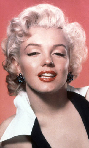 Iconic star Marilyn Monroe voted best ever blonde!