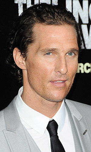HOT PICS: Matthew McConaughey smoulders in Dolce & Gabbana at The Lincoln Lawyer premiere