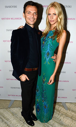 Poppy Delevingne wows at Matthew Williamson 15th anniversary party