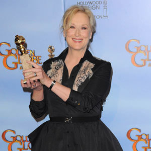 Golden Globe Winners: Awards for Meryl Streep, George Clooney, Michelle Williams and co. at the Globes 2012!