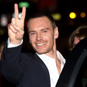 Michael Fassbender gets swarmed by fans in NYC!