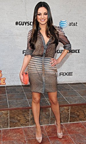 Mila Kunis and Jennifer Aniston smoulder with success at Spike TV's Guys Choice Awards