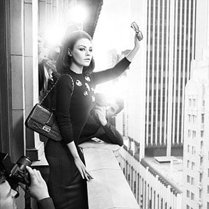 Mila Kunis sizzles in Dior's new campaign!