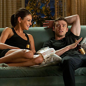 WATCH VIDEO: On set with Justin Timberlake and Mila Kunis