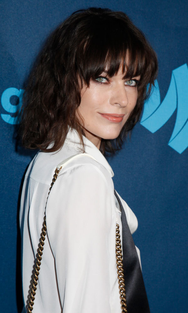 Milla Jovovich's effortlessly sexy hairstyle: We love!