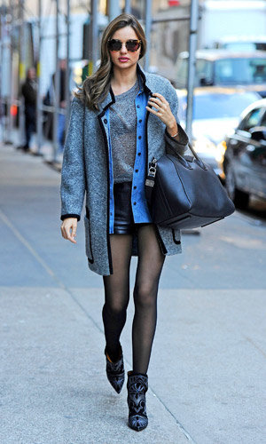 Miranda Kerr steps out in Isabel Marant's new It-boots!