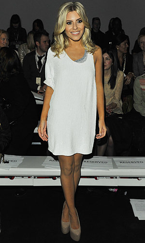 Mollie King works three outfits to see out London Fashion Week