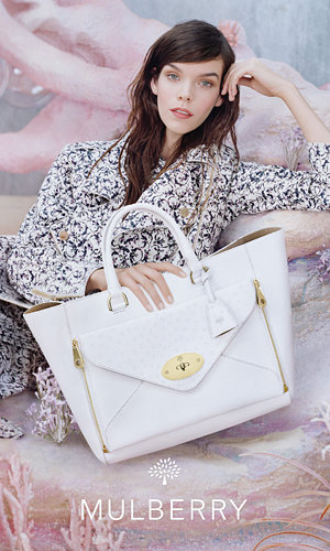 Mulberry unveils its aquatic new fashion campaign