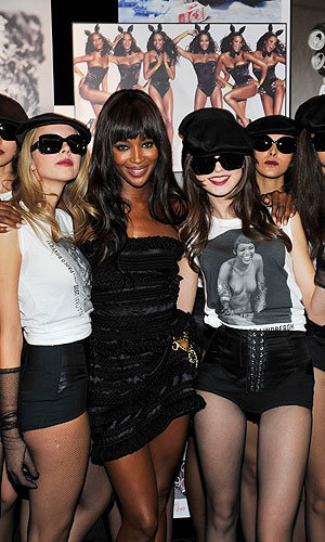 HOT TICKET: Dolce & Gabbana party for Naomi Campbell!