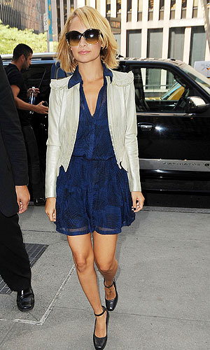 Nicole Richie wows in THREE outfits in one day while out in NYC!