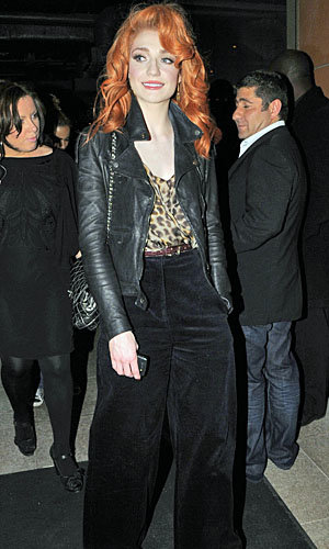Nicola Roberts and Kimberley Walsh hit Nobu in style
