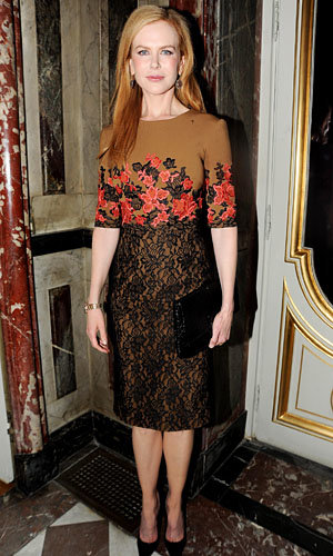 Nicole Kidman and Jade Jagger hit TOD'S fashion party!