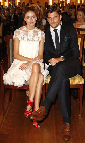 Olivia Palermo and Johannes Huebl make a perfect pair at Couple of the Year Awards