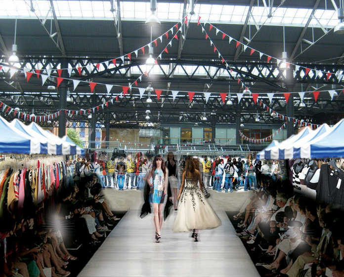 FREE fashion events at London's old Spitalfields Market
