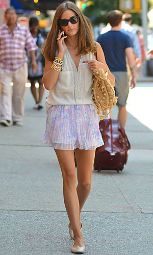 Olivia Palermo's breezy summer style