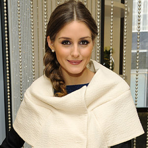 Easy hairstyle: Olivia Palermo's tousled plait