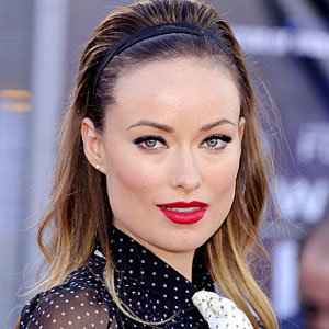 Olivia Wilde goes dotty at Cowboys & Aliens London premiere