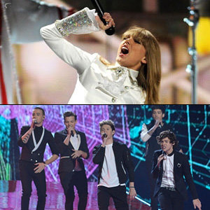 Taylor Swift to do music battle with One Direction at Nickelodeon Kids' Choice Awards