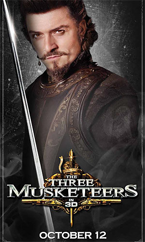 FIRST LOOK: Orlando Bloom in The Three Musketeers