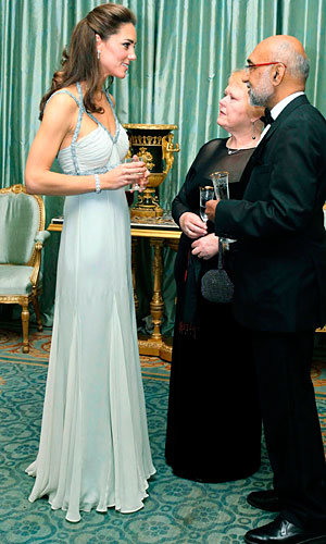 Kate Middleton wows in Amanda Wakeley for her first official solo engagement!