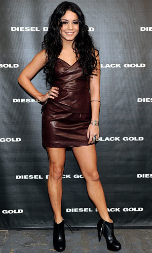 Vanessa Hudgens and Chace Crawford go front row at Diesel Black Gold
