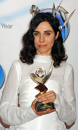Congrats! PJ Harvey wins Mercury Music Prize