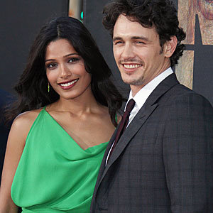 Freida Pinto and Harry Potter stars hit Rise of the Planet of the Apes premiere