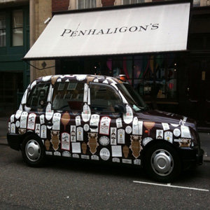 The most fragrant way to travel: Penhaligon's launch scented taxis!