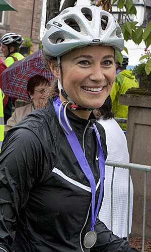Pippa Middleton heads to the Scottish Highlands for the Highland Cross duathlon