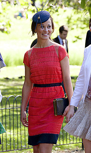Another wedding guest look from Pippa Middleton!